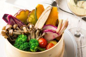 みなとみらいのイタリアン「chef's V」では、野菜をたっぷり摂れるメニューをご用意してます