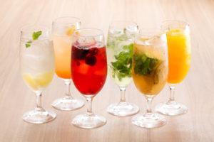 みなとみらいのイタリアンノンアルコールカクテルを楽しむ