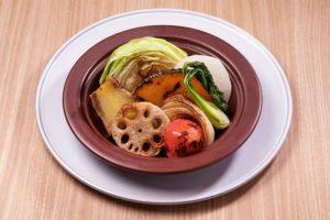 みなとみらいのイタリアンレストラン【chef's V 横浜ランドマークタワー店】で温野菜