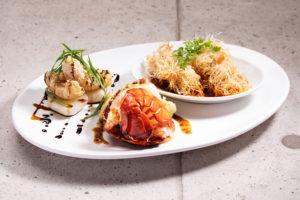 みなとみらいにある【chef's V 横浜ランドマークタワー店】の魚介料理